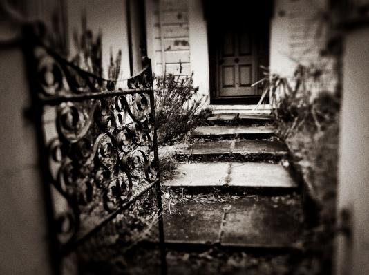 Ramshackle houses